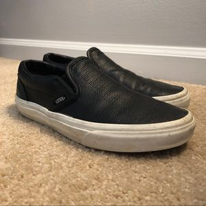 Vans Off the Wall Classic Slip-on Black Sneakers